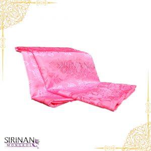 ผ้าห่มแพรสีชมพู