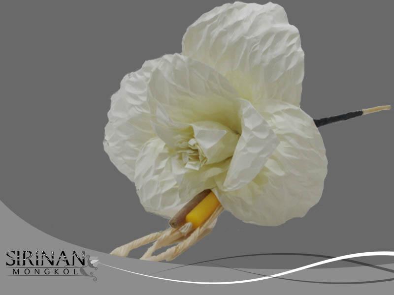 ดอกไม้จันทน์แบบดอกดารารัตน์ ชุดอุปกรณ์ทำดอกดารารัตน์ (ดอกไม้จันทน์)
