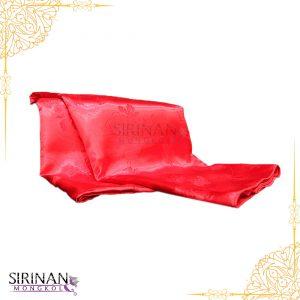 ผ้าห่มแพรสีแดง